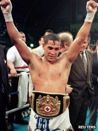 Hector Camacho in file photo from 1997
