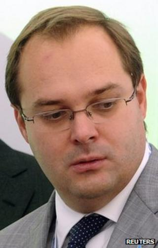 Alexander Provotorov, head of Rostelecom, at a forum in the Russian city of Sochi, 16 September 2011