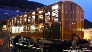 Metropolitan Railway first class Jubilee carriage
