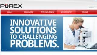 Porex website