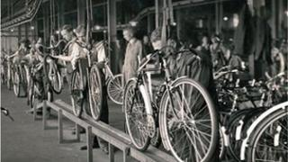 Nottingham's Raleigh Bicycles factory