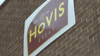 Hovis factory sign