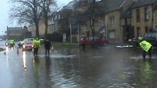 Flooding in Witney