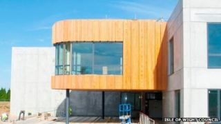 The new Cowes Enterprise College building