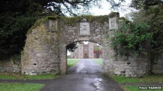 Scone Palace Archway