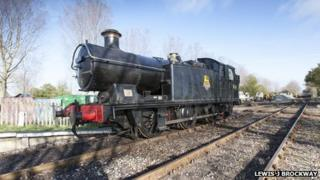 Kent and East Sussex Railway's new 73-ton locomotive