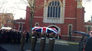 David Lee Collins funeral