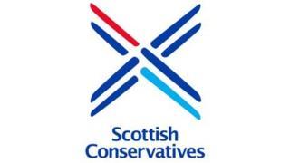 New Scottish Tory logo