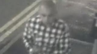 Photograph of suspect