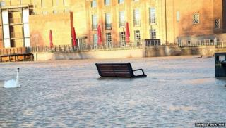 Stratford-upon-Avon flooding