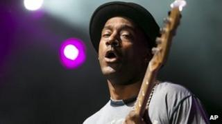 Marcus Miller on stage