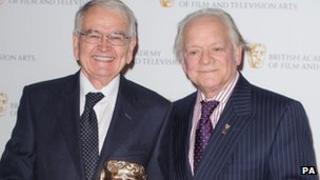 Brian Cosgrove and Sir David Jason