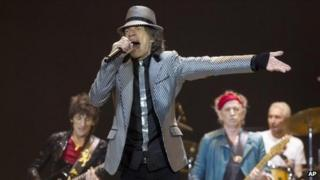 Mick Jagger at the O2