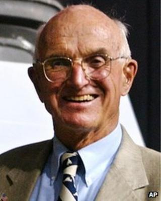 July 2004 file photo of Dr Joseph E Murray