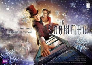 Doctor Who: The Snowmen Christmas special poster