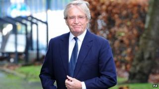 William Roache at Bill Tarmey's funeral