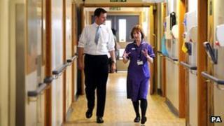 Jeremy Hunt Kings College Hospital visit 2012