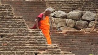 Sri Lankan Buddhist monk (file image)