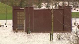 National Memorial Arboretum floods
