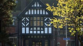 The old Bryn Estyn children's home near Wrexham