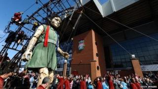 Little Girl Giant strides past Anfield