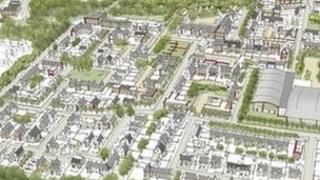 Plan of development site