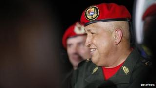 Chavez back from Cuba, 14 Aug 2011