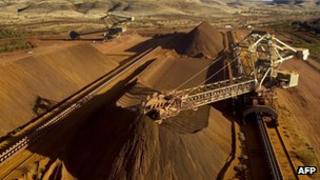 Rio Tinto mine in Australia