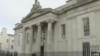 Bishop Street court house.