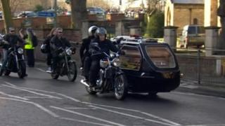 Funeral of Fergus O'Connell