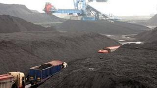 Coal depot at Immingham on the Humber