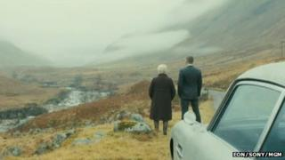 Skyfall scene. Picture copyright of Eon/Sony/MGM