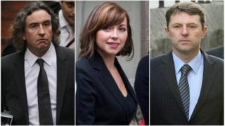 From left: Steve Coogan (Pic: Getty Images) Charlotte Church (Pic: Reuters) Gerry McCann (Pic: Getty Images)
