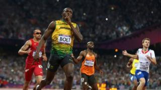 Usain Bolt is the biggest name in athletics