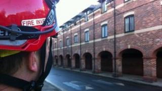 Fire officer in York