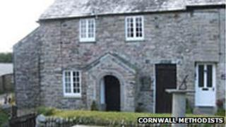 John Wesley's cottage, Trewint, Cornwall