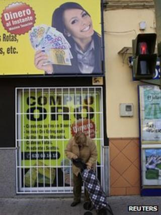 Shops in Spain