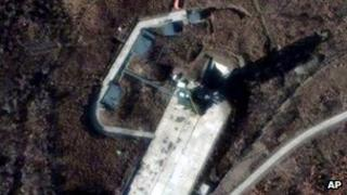 Sohae Satellite launch station in Cholsan County, North Pyongan Province, North Korea (file image from 23 Nov 12)