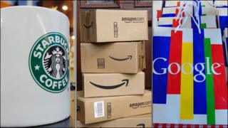 Starbucks Amazon Google
