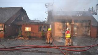 Fire station in North Berwick