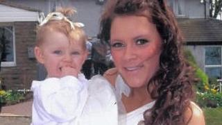Mica Atkinson and her daughter Lilly