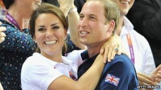 Duke and Duchess of Cambridge in August 2012