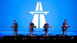 Kraftwerk played at MoMA in New York earlier this year