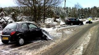 Crash at Raemoir