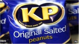 KP Nuts packet