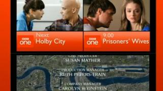 An example of how TV credits can be made smaller