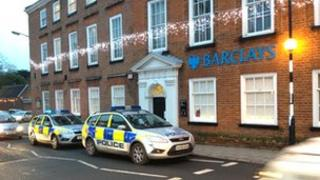 The Barclays Bank in Aylsham