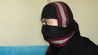 Dewa at her home in Jalalabad
