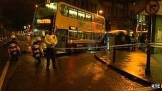 Dublin bus death