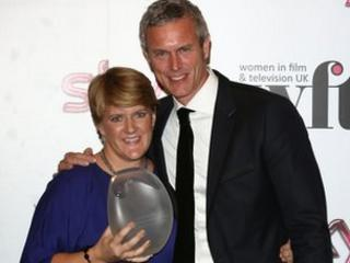 Clare Balding and Mark Foster